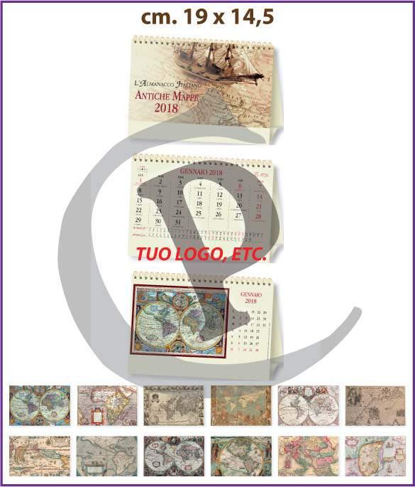 Calendari illustrati da tavolo personalizzati primo prezzo - Calendari da tavolo con foto ...