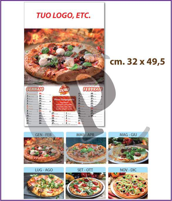 calendari-illustrati-personalizzati-2018-pizza